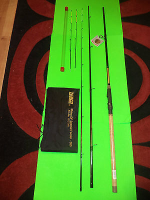 A NEW ZEBOC (BROWNING) RHINO DF SPECIAL LIGHT11ft 3in FEEDER FISHING ROD