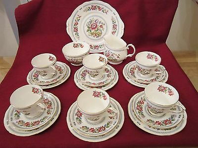 Vintage Duchess Nanking  21 Piece  China Tea Set  - Not Used - Excellent Cond