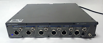 MINT CONDITION AUDIO PRECISION APx515 2-CHANNEL HIGH PERFORMANCE AUDIO ANALYZER