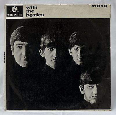 """The Beatles """"With The Beatles"""" Parlophone PMC 1206 Mono 7N/7N UK 2nd Press 1963"""