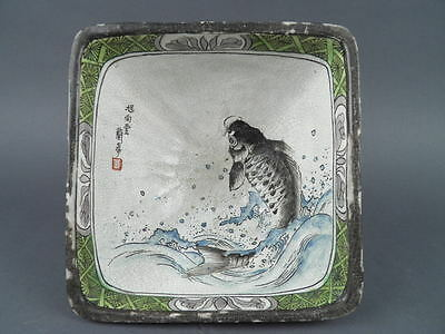 Fine Old Chinese Signed Hand Painted Enameled Cup Bowl Scholar Work Of Art