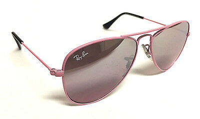 Authentic Ray-Ban Junior RJ 9506S Pink Aviator Sunglasses