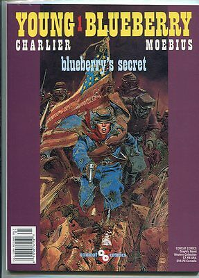 Young Blueberry #1 Nm 9.6 Classic Moebius Gem