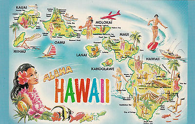 State of Hawaii , 1960s ; Map