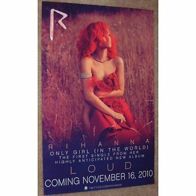 Rihanna poster - Loud - 11 x 17 inches
