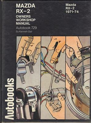 Mazda Rx2 Saloon & Coupe,rotary,super Deluxe Autobooks Workshop Manual 1971-1974