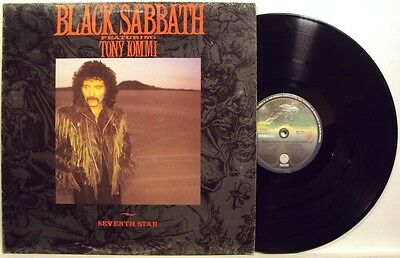 BLACK SABBATH-SEVENTH STAR-RARE LP 33 g. 1986