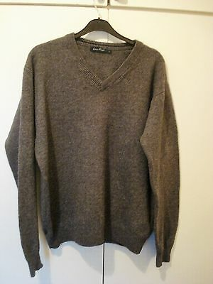 Mens James Pringle Pure New Wool Sweater Size L