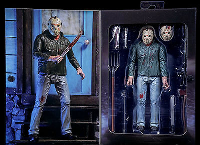 Neca Friday The 13Th Part 3 -  3D Ultimate Jason Voorhees  Figur  Neu
