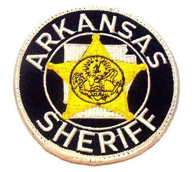 Old Arkansas Sheriff Patch Unused