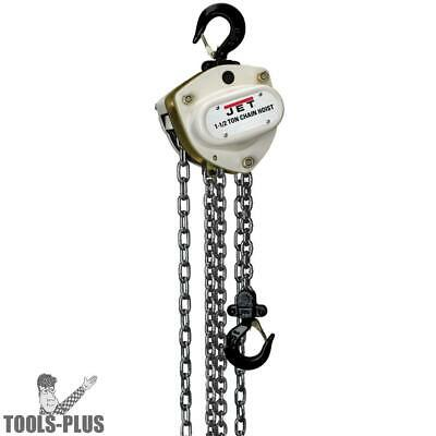 L100-100WO-20 1 Ton Hoist W/ 20' Lift PLUS Overload Protection JET 203120 New