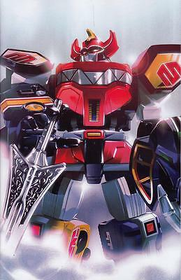Mighty Morphin Power Rangers #8 1/25 Montes Zord Incentive Variant Boom