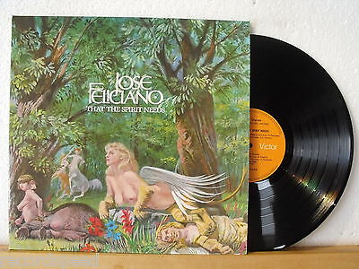 ★★ LP - JOSE FELICIANO - That The Spirit Needs - GER RCA 1971 - Record in NM