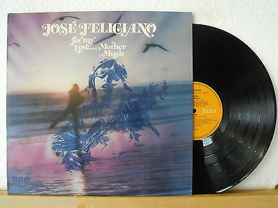 ★★ LP - JOSE FELICIANO - For My Love...Mother Music - RCA 1974 + Insert - NM
