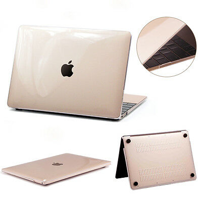 """Slim Rubberized Hard Glossy Case Cover For Apple MacBook Air 11"""" 13"""" Pro 13 inch"""