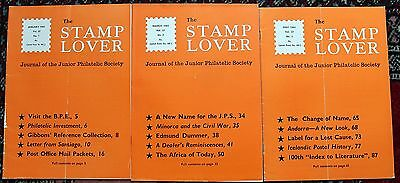 Stamp Lover Magazine – Full Set 1965 (6 issues) Jammed with Info (St-4)