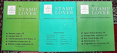 Stamp Lover Magazine – Full Set 1964 (6 issues) Jammed with Info (St-4)