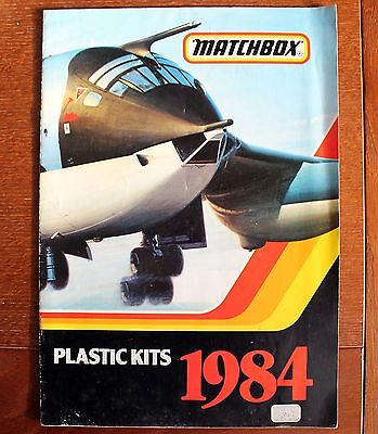 Matchbox – 1984 Catalogue of Plastic Kits – Packed with Info. (Col-2)