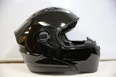 Vega Stealth Vertice Modular Helmet Medium M Gloss Black 4300-013Qr