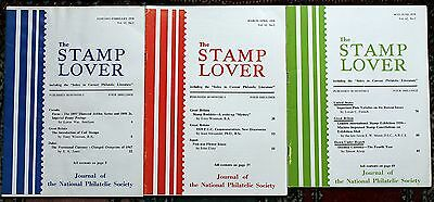 Stamp Lover Magazine – Full Set 1970 (6 issues) Jammed with Info (St-4)