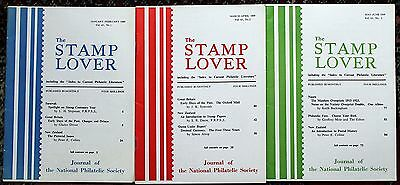 Stamp Lover Magazine – Full Set 1969 (6 issues) Jammed with Info (St-4)