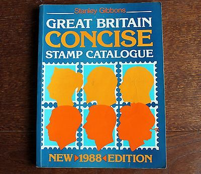 GB - Gibbons Concise GB Catalogue  – 1988 (St-4)