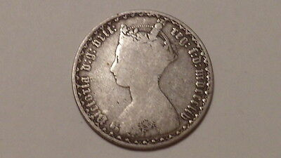 1854 Gothic Florin.Reads ONC not ONE.Collectable.Victoria 1852-1887. Extr.RARE.
