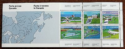 Canada 1983 Forts Booklet – 1st Series - Superb Cancelled – (Se2-E)