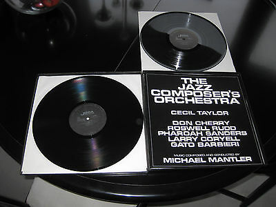 The Jazz Composers Orchestra conducted by Michael Mantler 2LP Box JCOA Records
