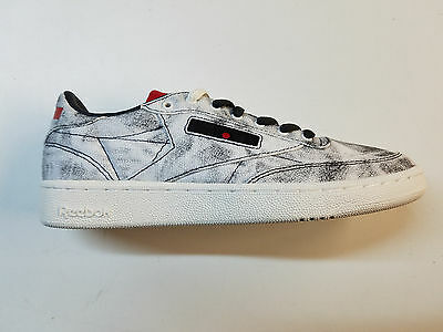 1ee2b67f Reebok Club C Kendrick Lamar Acid Wash Retro Kdot Mens Sneakers New Bs8205