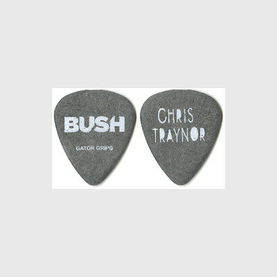 Bush Chris Traynor authentic 2012 tour Guitar Pick