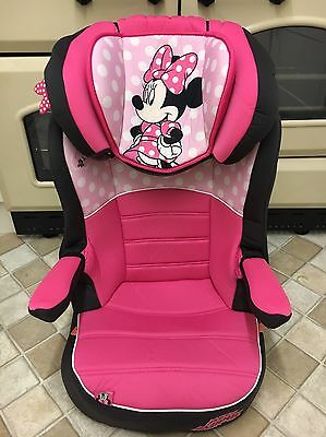 Minnie Mouse Pink Car Seat Baby Toddler Travel Child