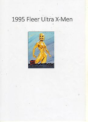 1995 Fleer Ultra X-Men Trading Card #86 Mutant Liberation Front Tempo