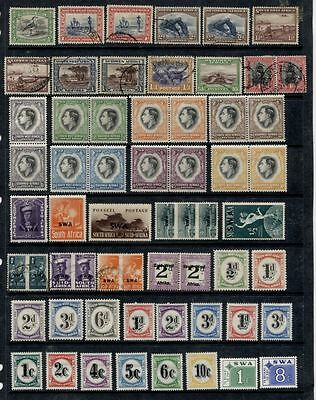 South West Africa *************** 1926-73 Valuable M/u Collection