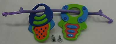 Evenflo ExerSaucer Mega Saucer Replacement Toy Sliding Keys 5012