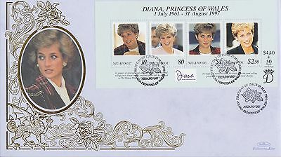 Niuafo'ou Stamps First Day Cover 1998 Princess Diana Benham Ltd Edn Collection