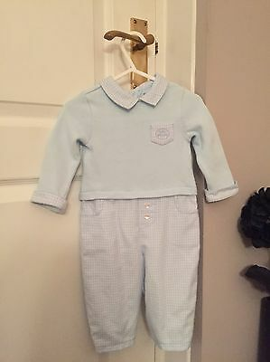 Baby Boys Designer Outfit Tutto Piccolo 9-12 Months