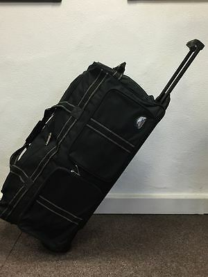 Compass 104L Travel Wheeled Luggage Trolley Holdall Duffle Bag