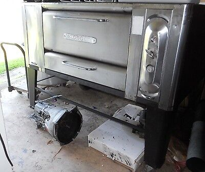 BLODGETT 1000 Propane gas PIZZA OVEN on WHEELS