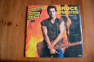 """2 X 12"""" Ep Vinyl Records=Jan Hammer And Bruce Springsteen"""
