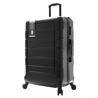 Extra Large XXL Small Cabin Hard Plastic Trolley Hand Luggage Suitcase Bag Case