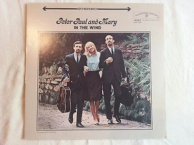 Schallplatte LP Peter, Paul And Mary/In The Wind