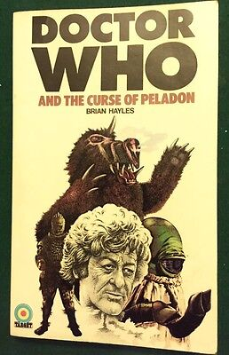 BOOK Doctor Who #13 Dr Who and the Curse Of Peladon Target 1st Edition Paperback
