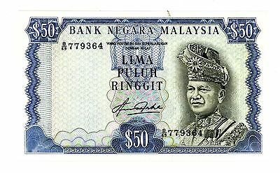 Malaysia ... P-16A ... 50 Ringgit ... ND(1981) ... *AU-UNC*