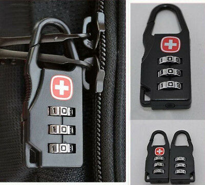 New Mini Password Lock for Luggage Toolbox Golf Bag Tackle Box Key Ring Y2
