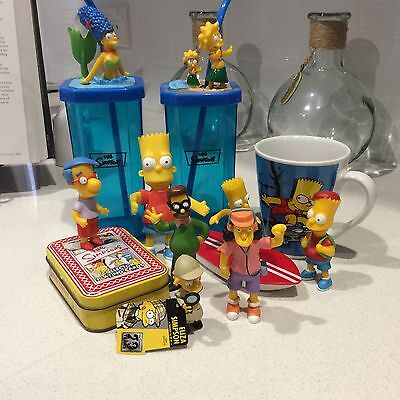 SIMPSONS PACK Red Rooster Hungry Jacks Figurines Mug Cards BULK
