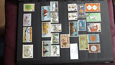 STAMPS - GUERNSEY MIX x 24 used (set 1)