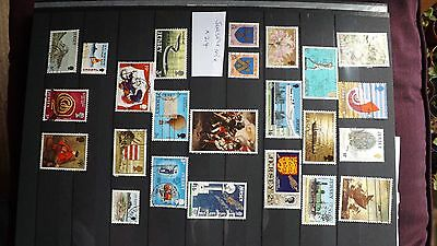 STAMPS - JERSEY MIX x 24 used