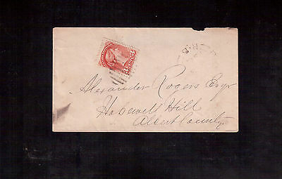 CANADA 3 Cents # 37 on 1877 Cover !