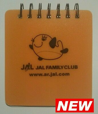 Japan Airlines Sticky Notes & Note Tabs Spiral Notepad